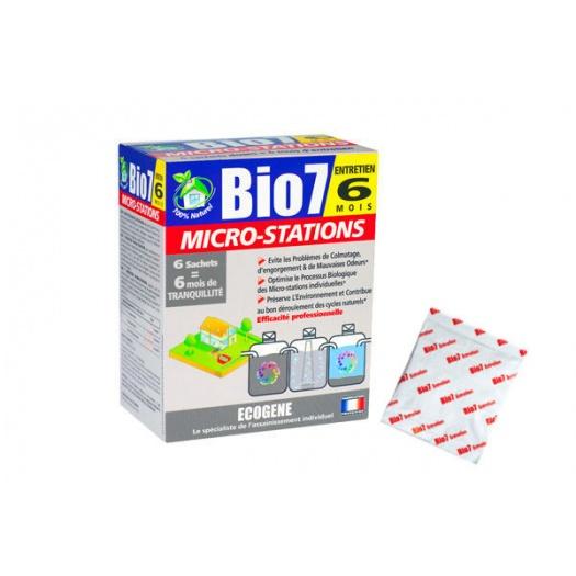 Microstations Bio7 EntretienBiopreparat do eksploatacji oczyszczalni biologicznych