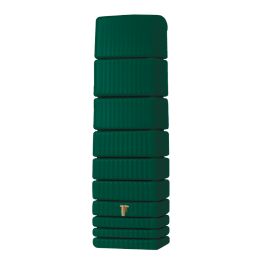 Zbiornik SLIM 650 ciemna zieleń